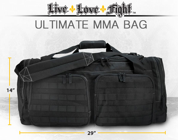 The New Live Love Fight Ultimate MMA Bag Is Finest Mixed Martial Arts Gym On Planet Most Bags Were Originally Or Military